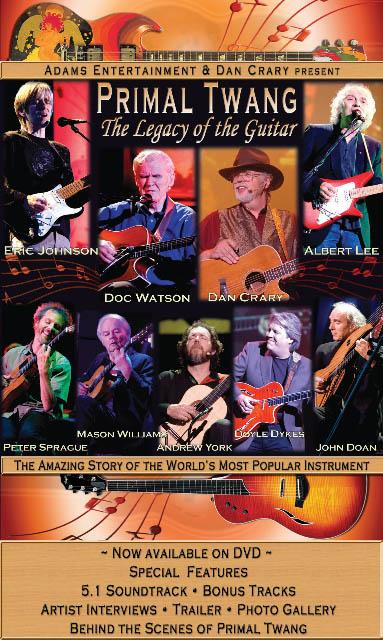 Primal Twang Festival and Concert DVD Cover