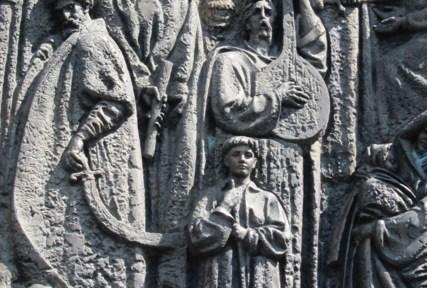 Lviv Burdura Scupture