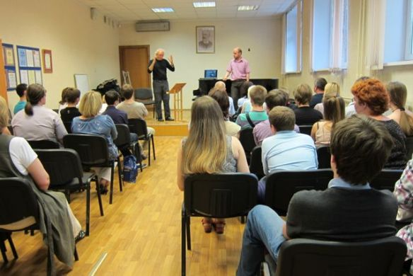 John Doan Harp Guitar Moscow Lecture.