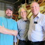 24. John Doan Harp Guitar Retreat Marc, John, Jay