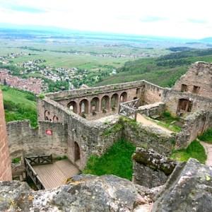42.The Château de Saint-Ulrich Ribeauvillé distance