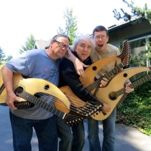 Harp Guitar Retreat 2013 3 harp guitarists4