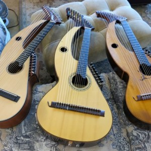 Harp Guitar Retreat 2013 3 harp guitars