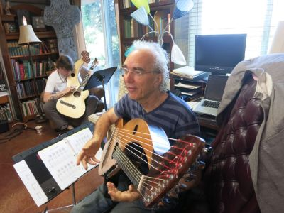 3. Harp Guitar Retreat 2014 John Doan
