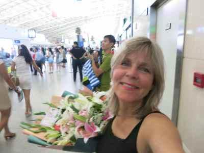 2. Deirdra flowers Airport