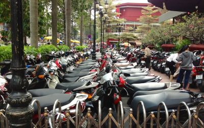 10. Motorcycle Parking