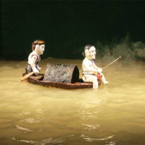 102. Water Puppet boat