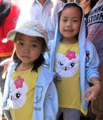 81. Phan Theit Parade Children