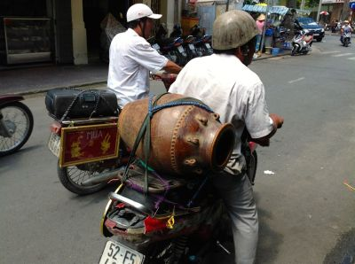 9. Antique Dealer making Delivery