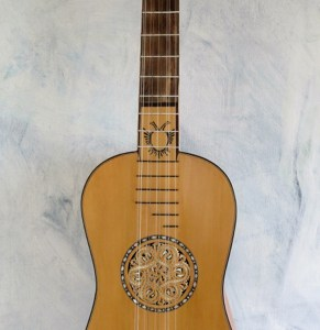Baroque Guitar Michelutti 1