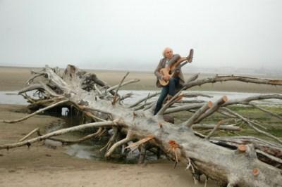 John Doan with Harp Guitar.