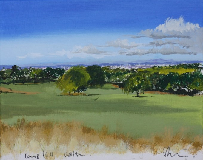 Painting of Camp Hill, Woolton