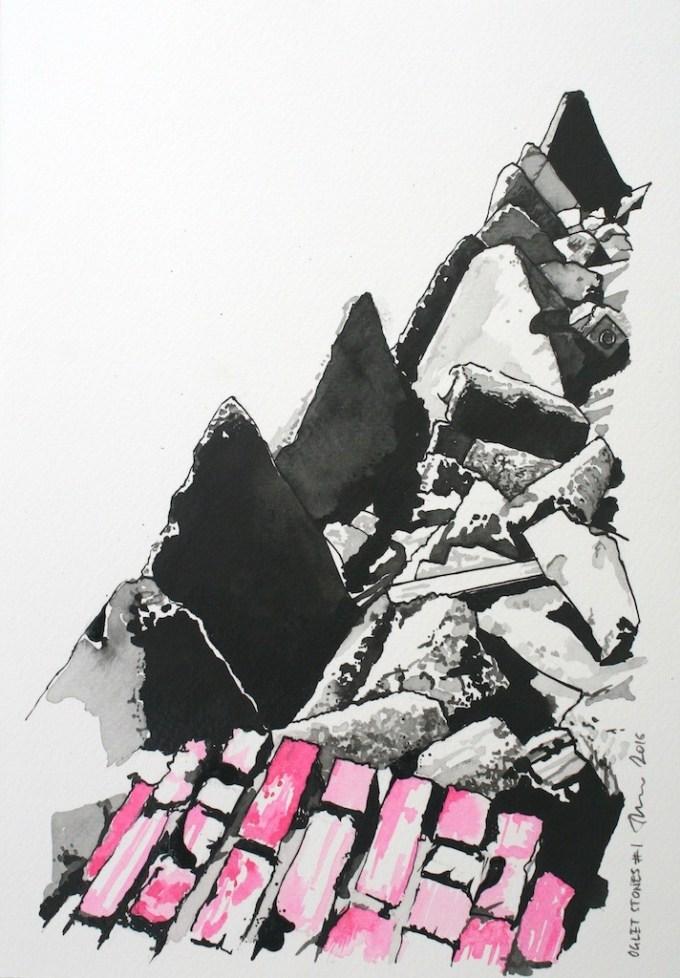 Oglet Stones No. 1 (2016)