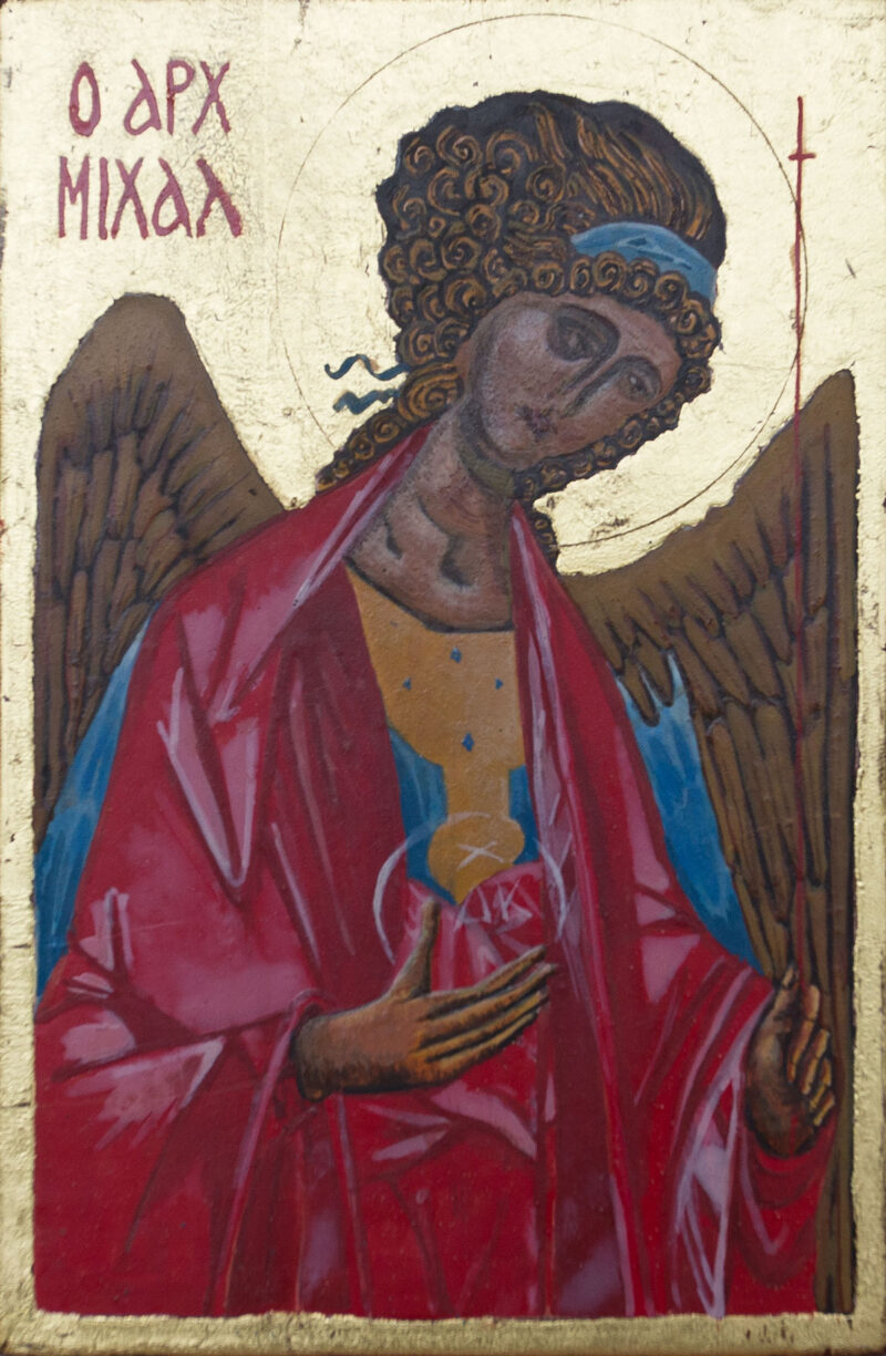 Ikon of the Archengel Michael, after Rublev