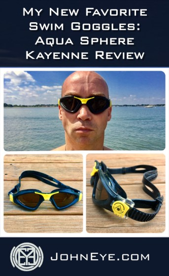 My new favorite swim goggles, Aqua Sphere Kayenne review