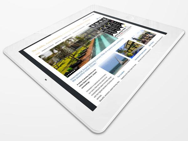ipad on website