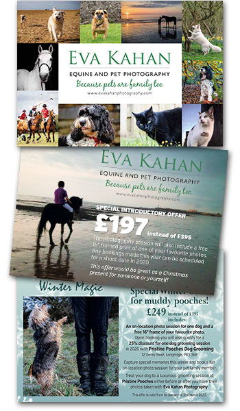 Eva Kahan postcards