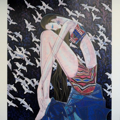Echoes, by Ting Shao Kuang signed and numered limited edition serigraph