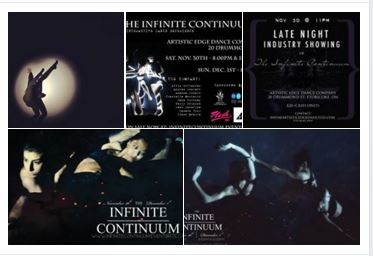 Infinite Continuum Dance experience