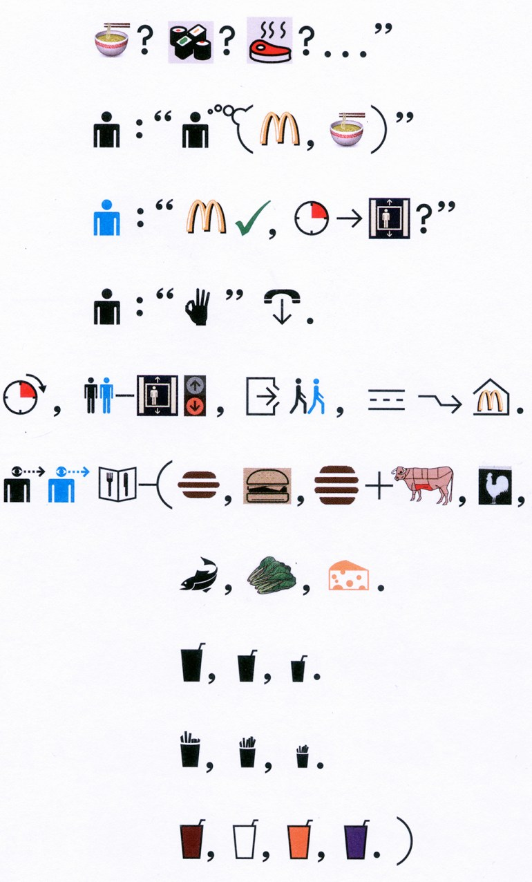 Emojis and beyond infographics for the people has bing invented a new language not quite the story is 24 hours in his life you know that because theres a little text on the back cover biocorpaavc