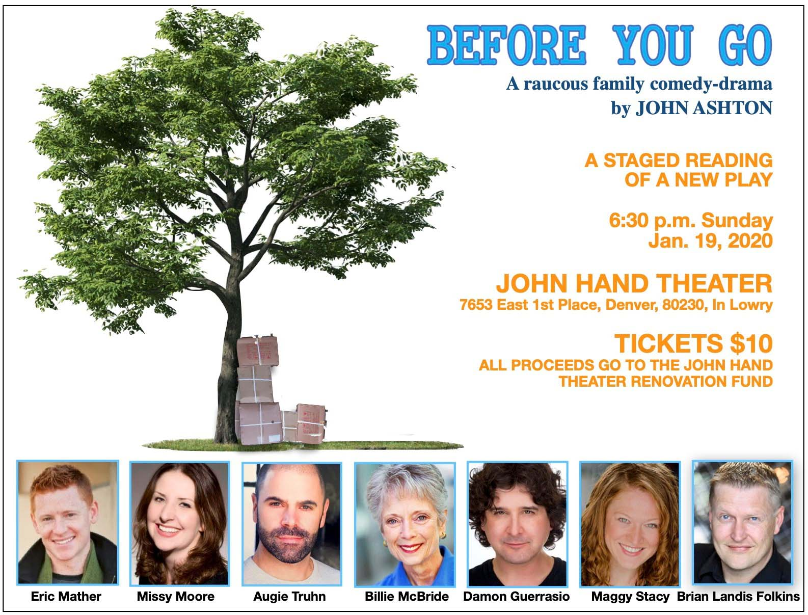 Before You Go - John Hand Theater
