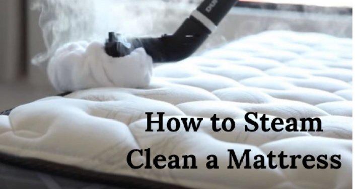 Steam Clean a Mattress