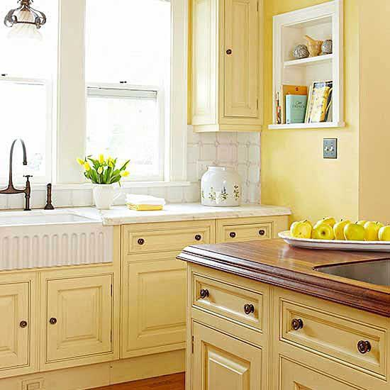 Light Yellow kitchen color