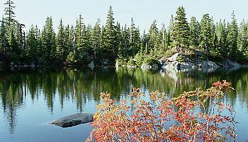 Lake on Black Mountain