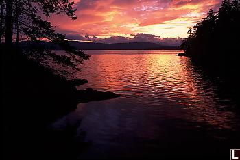 Retreat Island Sunset