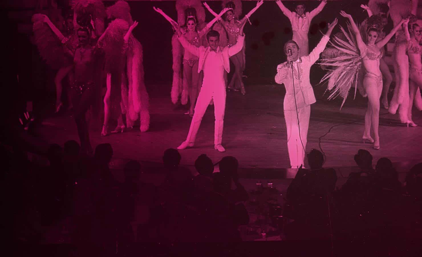 John Hemmer and the Showgirls