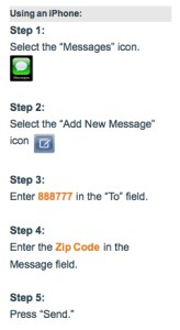 How to Sign Up for Nixle on the iPhone