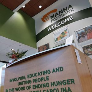 manna donor wall wayfinding environmental design experiential design display design recognition wall