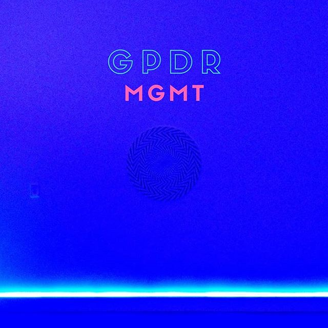 I thought GDPR should be the name of a new album by MGMT. So I designed a fake cover for it. I also updated my privacy policy and ate some cookies. I may have spelled it wrong, but I figured their fans would be too stoned to notice. https://mailchi.mp/688e744995a7/hey-dj-282155