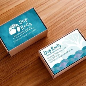 Happy! Here are some new business cards for my client Deep Roots about to hit the presses! I craft authentic design, Illustration and strategy to improve the world for positive impact businesses, entrepreneurs and organizations.What can we do for you?