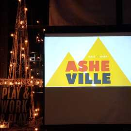 More excerpts from yesterday's @lets_makeamark Asheville event. Amazing to see all the talent culminating into stellar deliverables for organizations doing amazing work in our community and beyond