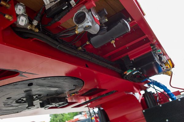 5 Axle Triple Extender with Hydraulic Steering 'SL Axle' (.85m)