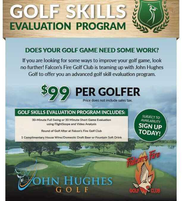 Schedule Your Golf Skills Evaluation Now!