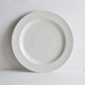 Classical Plain Porcelain Large Dinner Plate