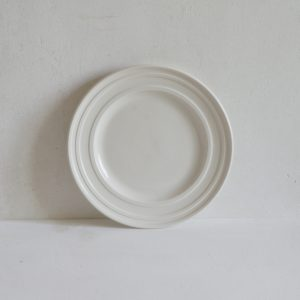 Classical Side Plate with Art Deco lines