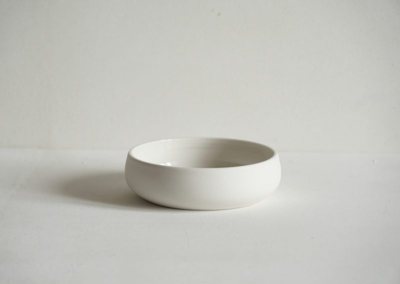 Porcelain Flat Bowl