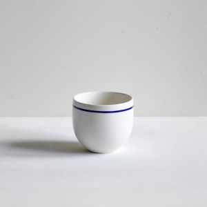 Simple Beaker Cobalt Blue Line