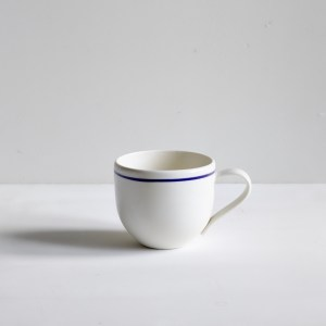 Simple Mug Cobalt Blue Line