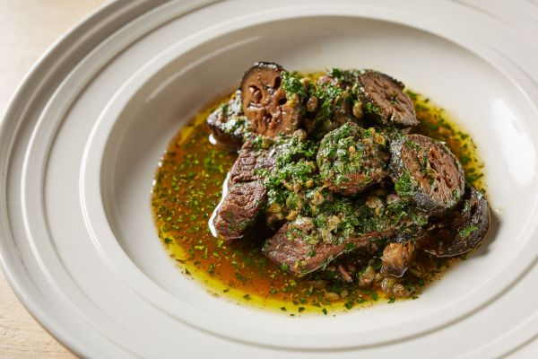 Braised Beef Recipe from Charlie Hibbert at Thyme. Photo credit Great British Chefs