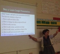 Teaching Google Drive
