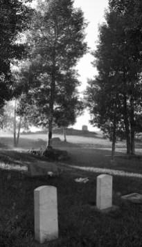 2 headstones