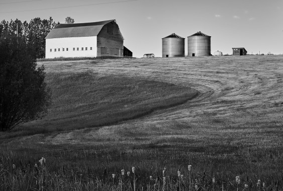 4 mile barn foreground