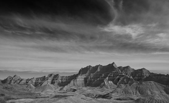 badlands range view