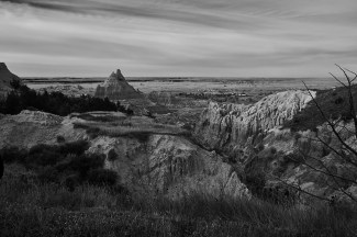 badlands valley overlook