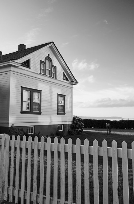 picket fence house