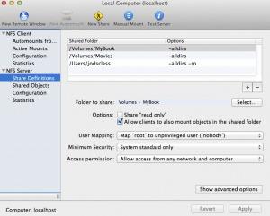 OSX Lion SMB Samba XBMC fix